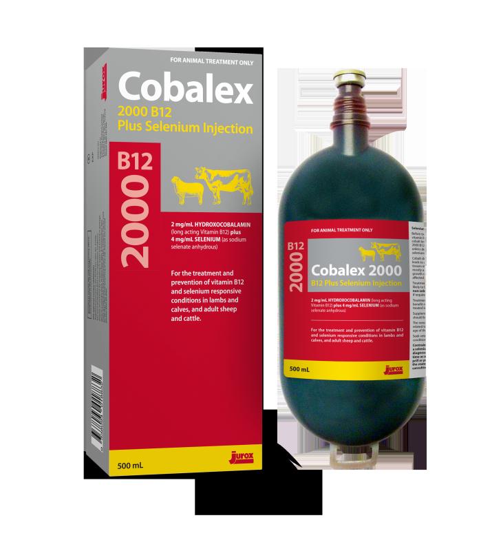 Cobalex 2000 B12 plus Selenium Injection Product Image