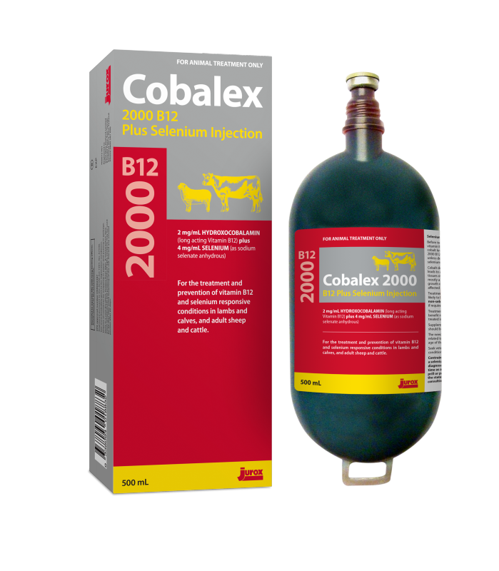 Cobalex 2000 B12 plus Selenium Injection Product Image